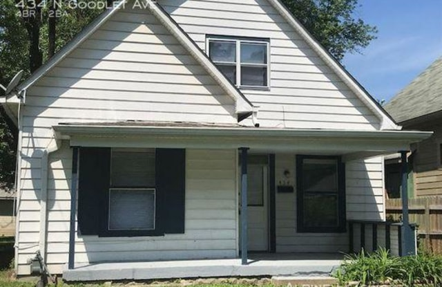 434 N Goodlet Ave - 434 North Goodlet Avenue, Indianapolis, IN 46222