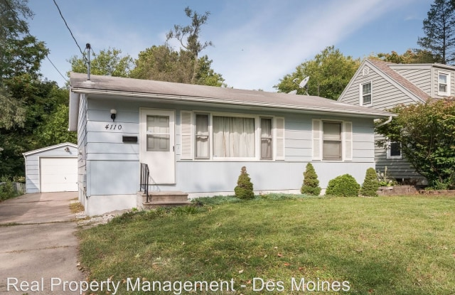 4110 Columbia Street - 4110 Columbia Street, Des Moines, IA 50313