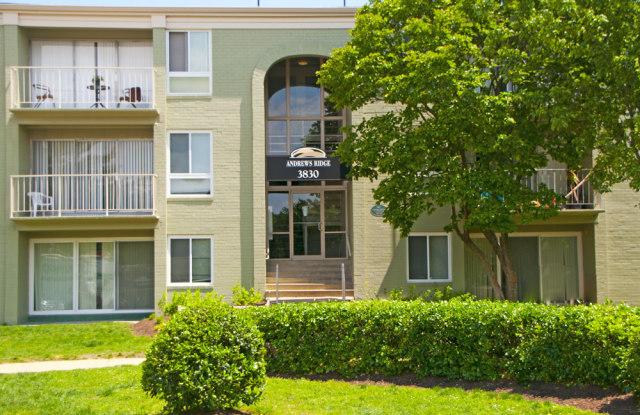 Andrews Ridge Apartments - 5635 Regency Park Ct, Suitland, MD 20746
