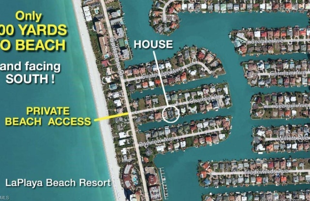156 Channel DR - 156 Channel Drive, Collier County, FL 34108