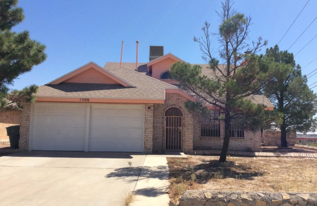 1500 REBECCA ANN Drive - 1500 Rebecca Ann Drive, El Paso, TX 79936