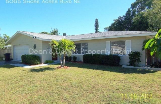 5065 Shore Acres Blvd NE - 5065 Shore Acres Boulevard Northeast, St. Petersburg, FL 33703