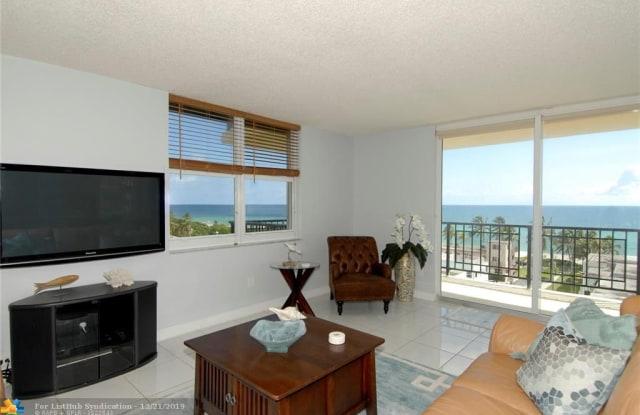 1501 S Ocean - 1501 South Ocean Drive, Hollywood, FL 33019