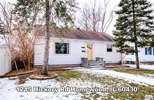 """1215 Hickory Road - 1215 Hickory Road, Homewood, IL 60430"""