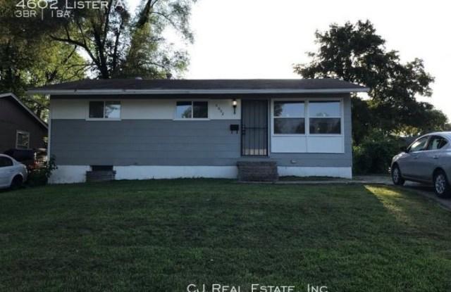 4602 Lister Ave - 4602 Lister Avenue, Kansas City, MO 64130
