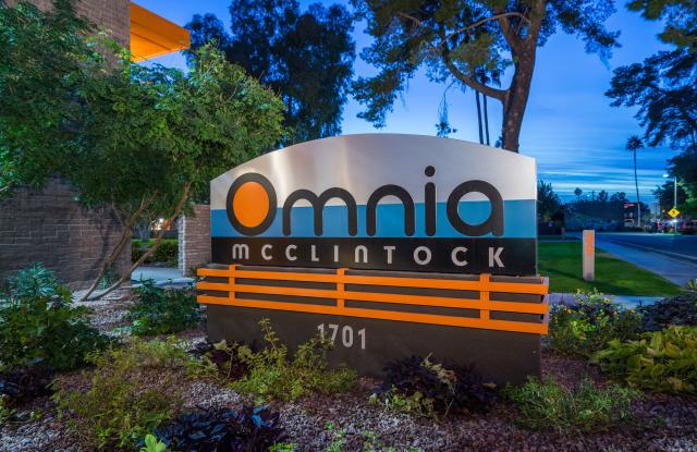Omnia on McClintock - 1701 E Don Carlos Ave, Tempe, AZ 85281