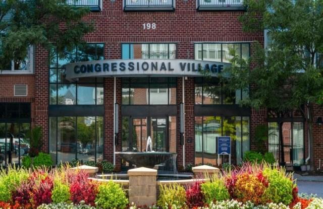 Residences at Congressional Village - 198 Halpine Rd, Rockville, MD 20847