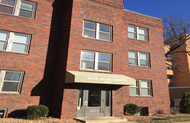 Zick Apartments - 603 1st St SW, Rochester, MN 55902
