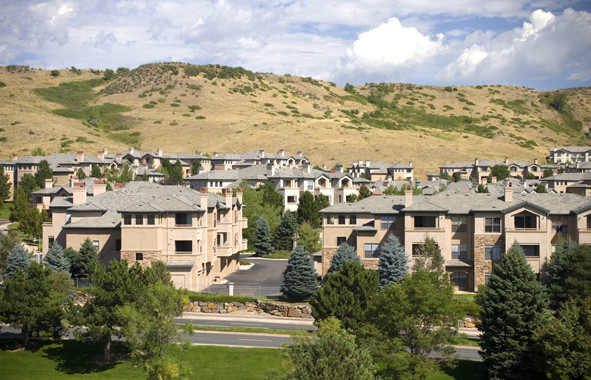 Camden Denver West - Camden Denver West offers upgraded one and two bedroom apartment homes with granite countertops, stainless steel appliances, and wood-style flooring