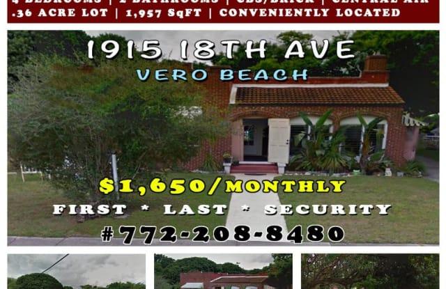 1915 18th Ave - 1915 18th Avenue, Vero Beach, FL 32960