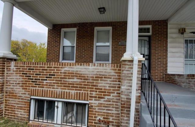 1511 N SMALLWOOD STREET - 1511 North Smallwood Street, Baltimore, MD 21217
