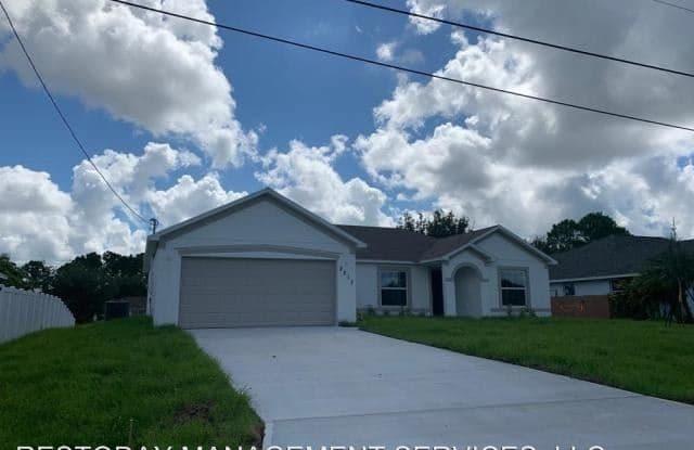 2217 SW Halissee Street, - 2217 SW Halissee St, Port St. Lucie, FL 34953