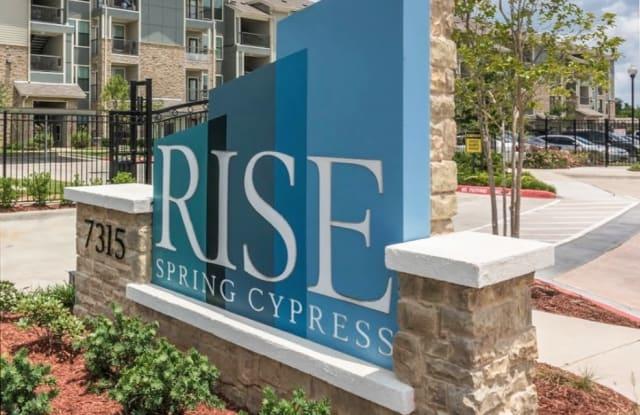 Rise Spring Cypress - 7315 Spring Cypress Rd, Spring, TX 77373
