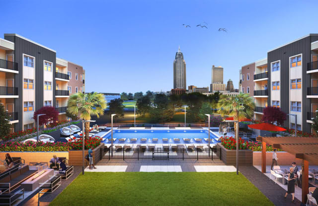 Meridian at the Port - 300 North Water Street, Mobile, AL 36602