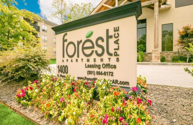 Forest Place - 1400 N Pierce St, Little Rock, AR 72207