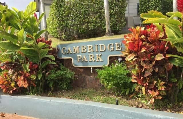 Cambridge Park and Cluster Park - 92-1340 PANANA ST, Kapolei, HI 96707