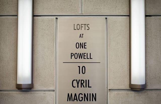 The Lofts at One Powell - 10 Cyril Magnin Street, San Francisco, CA 94102