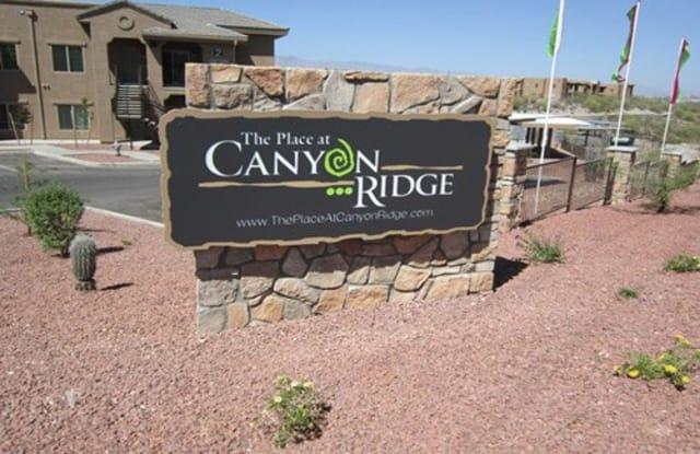 The Place At Canyon Ridge Apartments - 2656 W Broadway Blvd, Tucson, AZ 85745