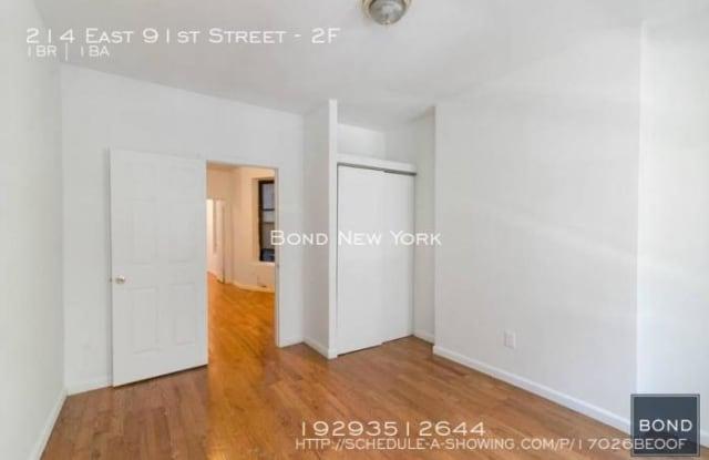 214 East 91st Street - 214 East 91st Street, New York, NY 10128