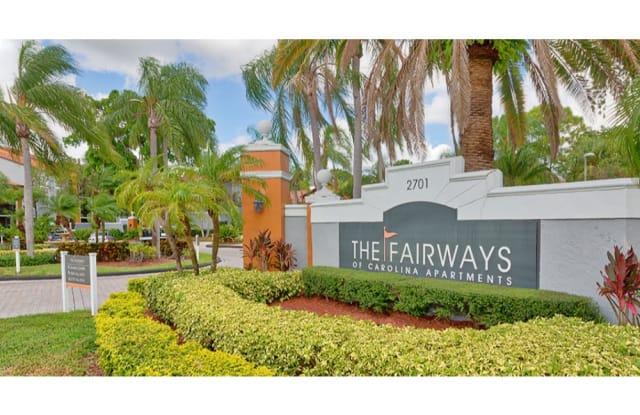 The Fairways of Carolina Apartments - 2701 N Rock Island Rd, Margate, FL 33063