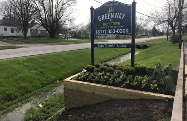 Greenway - 5350 East 21st Street, Indianapolis, IN 46218