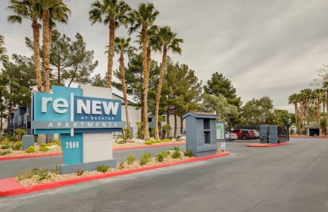 ReNew at Decatur - 2666 S Decatur Blvd, Las Vegas, NV 89102