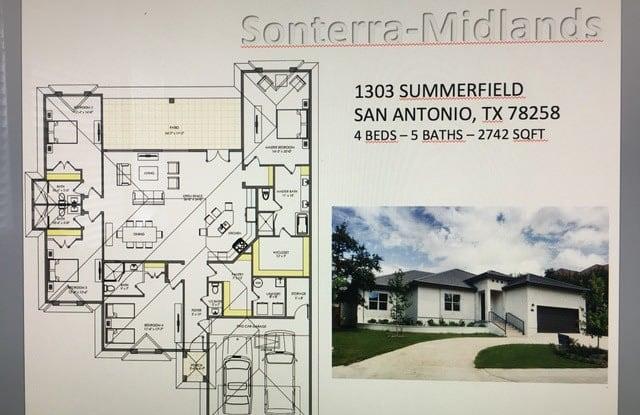 1303 SUMMERFIELD - 1303 Summerfield, San Antonio, TX 78258