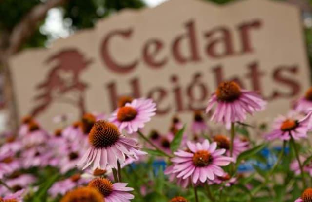 Cedar Heights Apartments - 5444 Grover St, Omaha, NE 68106