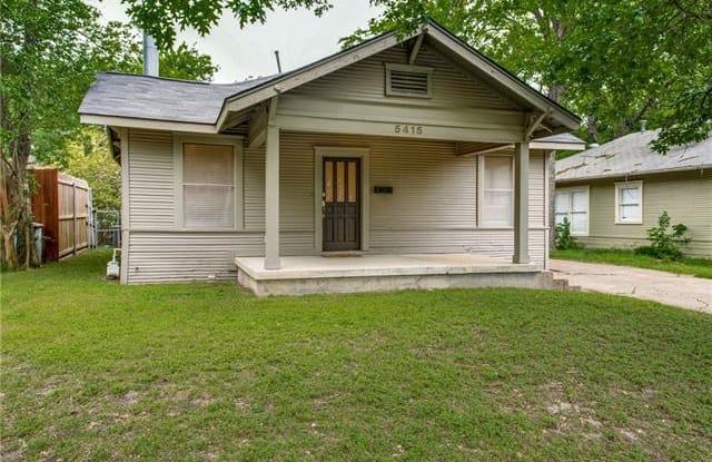 5415 Belmont Avenue - 5415 Belmont Avenue, Dallas, TX 75206