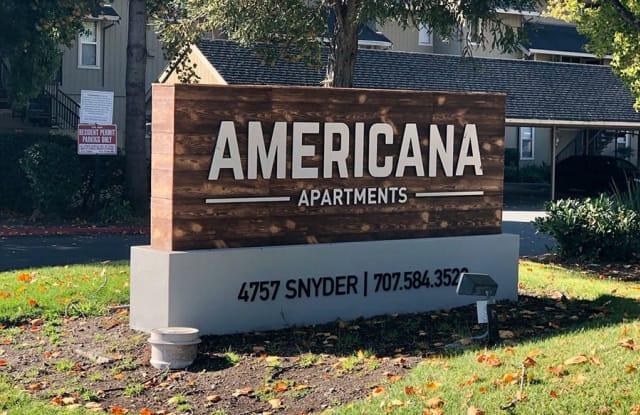 Americana Apartments - 4757 Snyder Ln, Rohnert Park, CA 94928