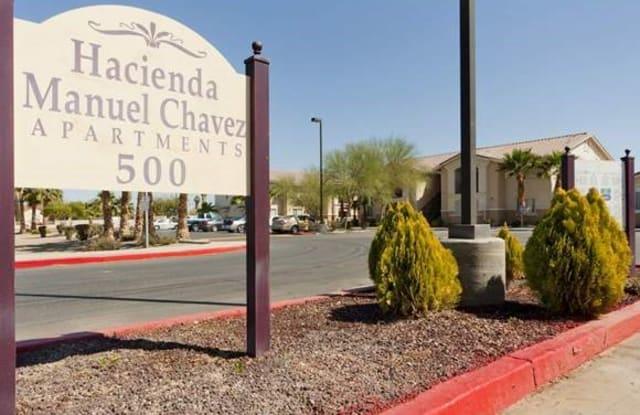 Income Restricted - Hacienda Manuel Chavez - 500 S Somerton Ave, Somerton, AZ 85350