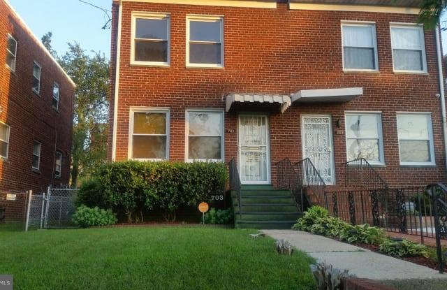 703 JEFFERSON STREET NE - 703 Jefferson Street Northeast, Washington, DC 20011