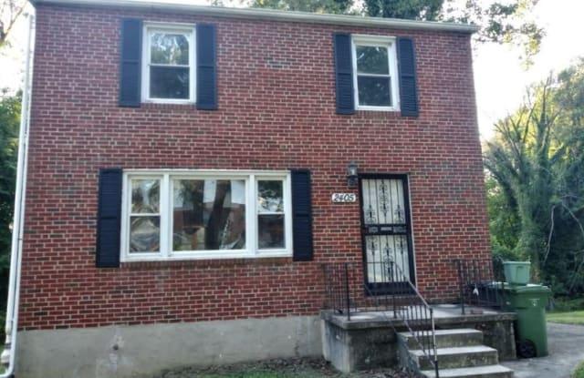 2405 College Ave, - 2405 College Avenue, Baltimore, MD 21214