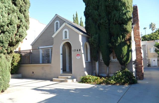1268 North Fairfax Avenue - 1268 North Fairfax Avenue, West Hollywood, CA 90046