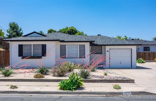 8715 Pampas St - 8715 Pampa Street, La Mesa, CA 91942