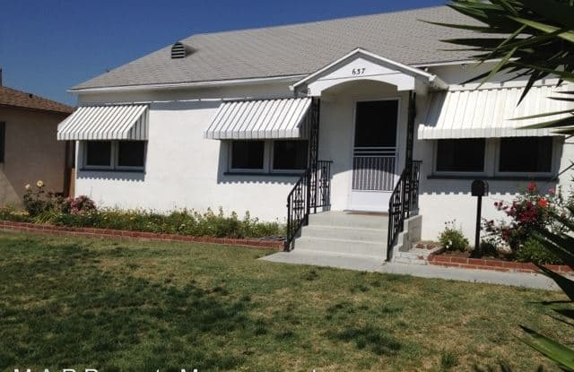 637 Wilber Place - 637 Wilber Place, Montebello, CA 90640