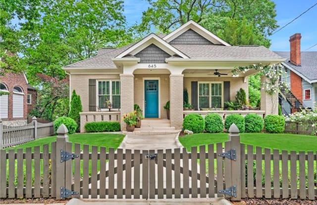 645 Seminole Avenue NE - 645 Seminole Avenue Northeast, Atlanta, GA 30307