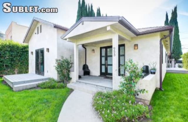 953 North Orange Grove Ave - 953 North Orange Grove Avenue, West Hollywood, CA 90046