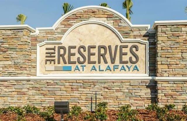 Reserves at Alafaya - 3715 Alafaya Heights Rd, Alafaya, FL 32828