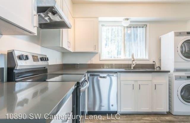 Hudson Apartments - 10890 SW Canterbury Ln, Portland, OR 97224
