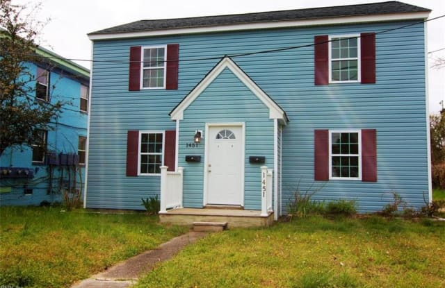 1451 W OCEAN VIEW Avenue - 1451 East Ocean View Avenue, Norfolk, VA 23503