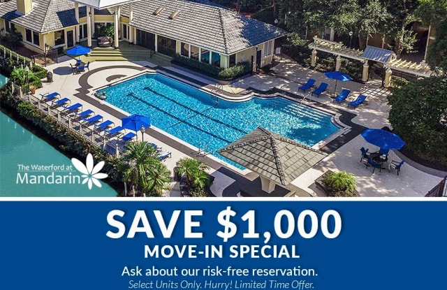 The Waterford at Mandarin Apartments - 11247 San Jose Blvd, Jacksonville, FL 32223