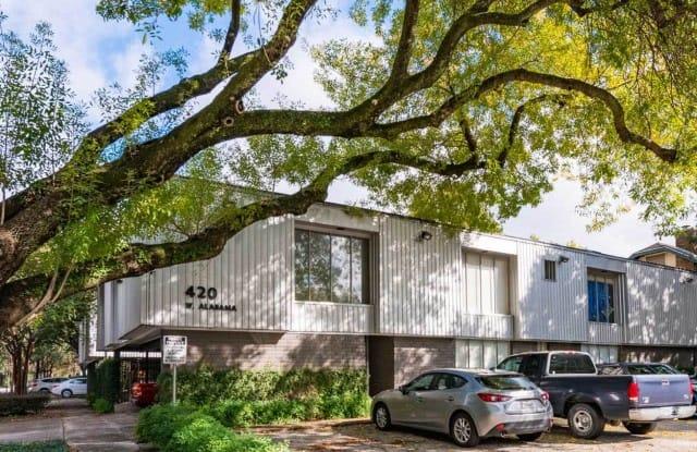 420 W. Alabama - 420 West Alabama Street, Houston, TX 77006