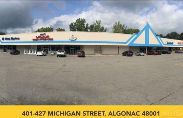 401-427 Michigan Street - 401 Michigan St, Algonac, MI 48001