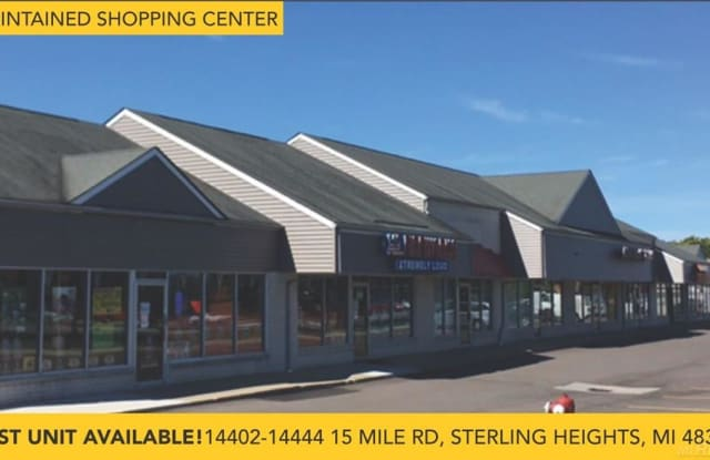 14420 15 Mile - 14420 15 Mile Road, Sterling Heights, MI 48312