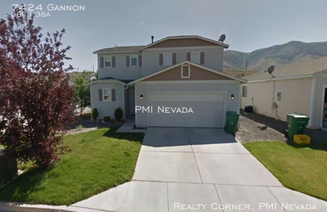 7424 Gannon Dr - 7424 Gannon Drive, Reno, NV 89506