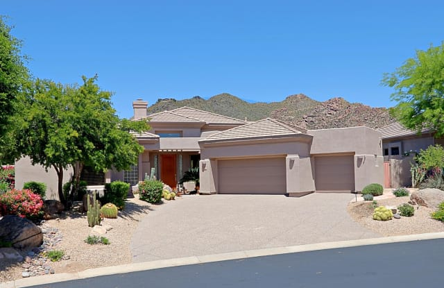6564 E WHISPERING MESQUITE Trail - 6564 East Whispering Mesquite Trail, Scottsdale, AZ 85266