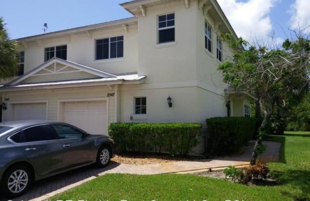 2547 Creekside Drive - 2547 Creekside Drive, Fort Pierce, FL 34981