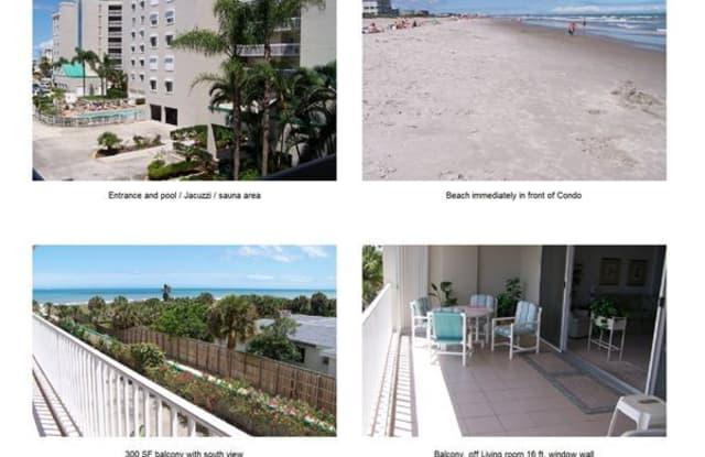 Emerald Seas Condos - 3400 Ocean Beach Blvd, Cocoa Beach, FL 32931