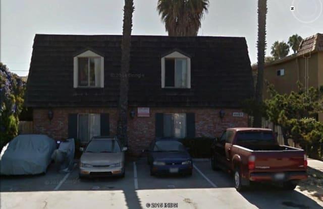 4485 Hamilton St - 4485 Hamilton Street, San Diego, CA 92116